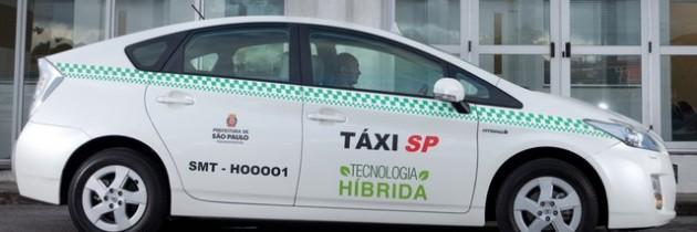 Capital de São Paulo já conta com 116 táxis híbridos